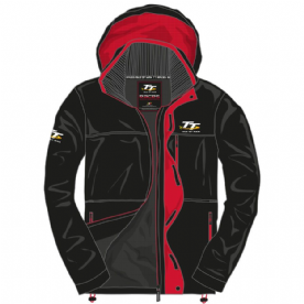 Isle Of Man TT Red/Black jacket
